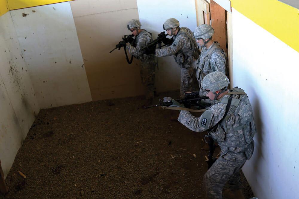 Alaska Guard Soldiers Train In Urban Warfare thumbnail image