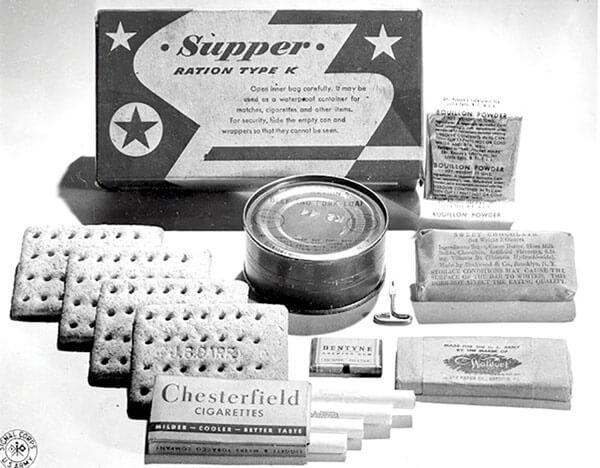 Evolution of MRE's Original rations