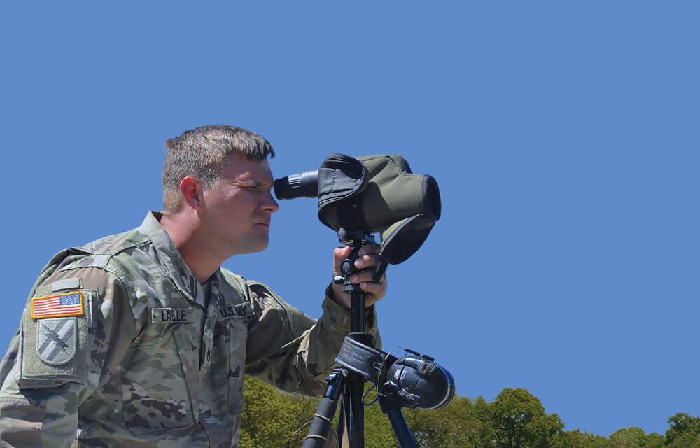 SGT Daniel Lavelle of the 48th Infantry Brigade, Georgia Army National Guard.