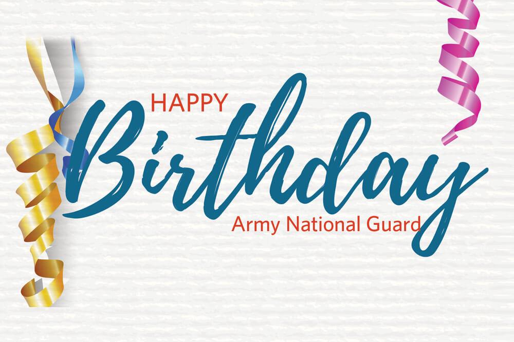 Happy Birthday Army National Guard thumbnail image
