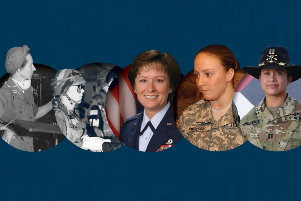 History Of Women in the Army National Guard