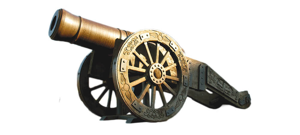 1814 Licorne — 18th and 19th century muzzle-loading Howitzer produced in Luhansk, Russia.
