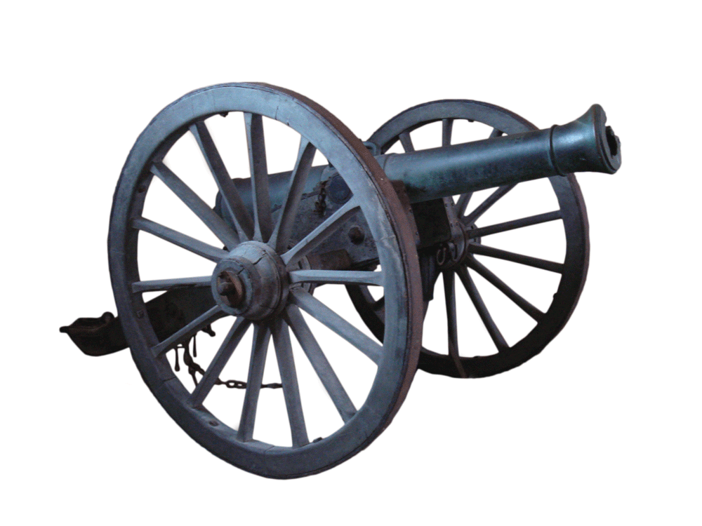 "1853 12-pounder Napoleon — A ""gun-Howitzer"" of French design that saw extensive service in the American Civil War."