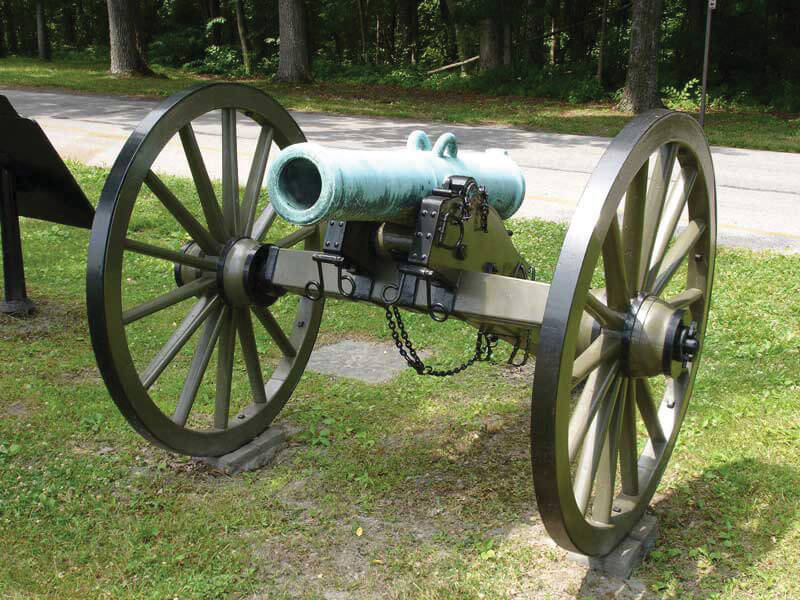 1898 Mountain Howitzer — The longest serving artillery piece of the 19th century, the mountain Howitzer was in service from the time of the Mexican-American War to the Spanish-American War.