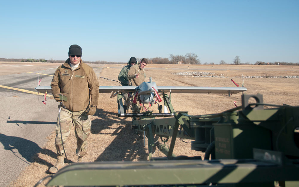Oklahoma Guard Conducts Unmanned Aircraft Training thumbnail image