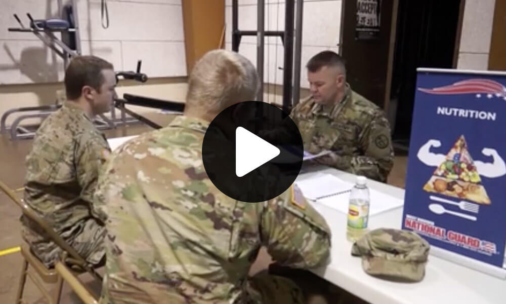 West Virginia National Guard welcomes first-ever National Guard dietician thumbnail image