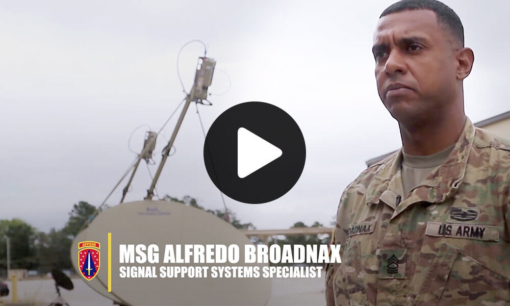 Army MSG Broadnax - Signal Support - Why I Joined SFAB