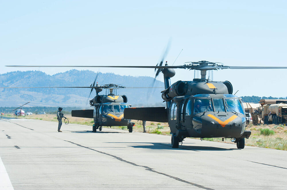 Colorado Helicopter Units Help Suppress Massive Wildfire