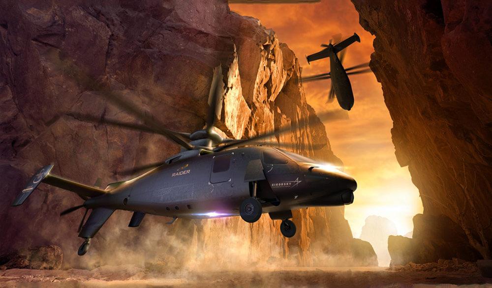 Sikorsky Defiant. Image courtesy Sikorsky Aircraft