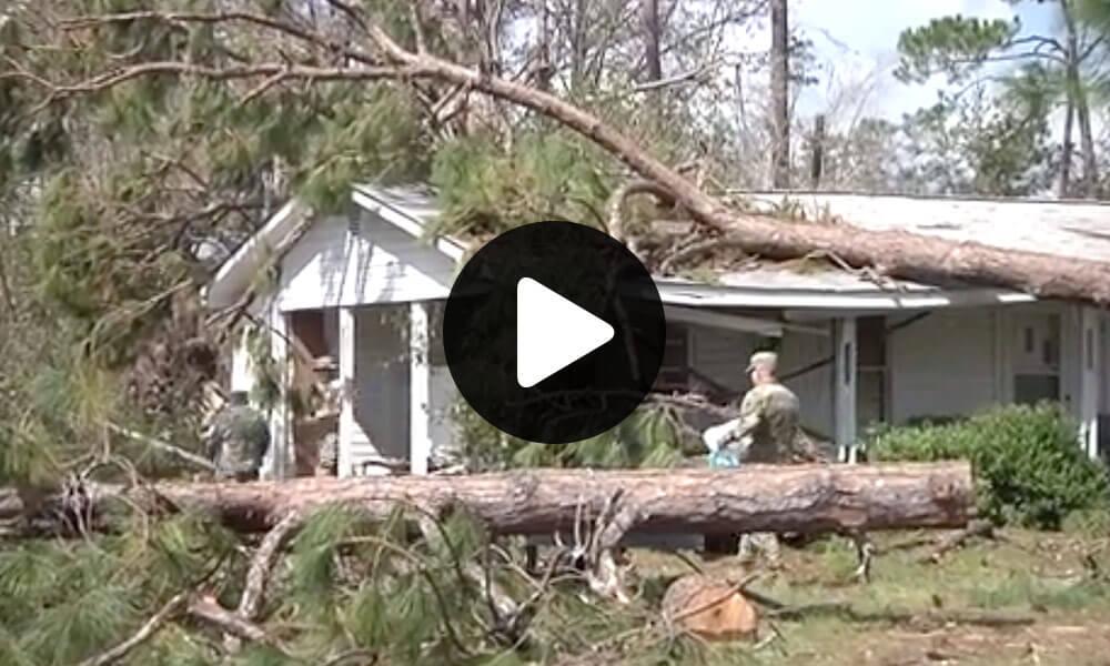 Georgia Guard's response to Hurricane Michael thumbnail image