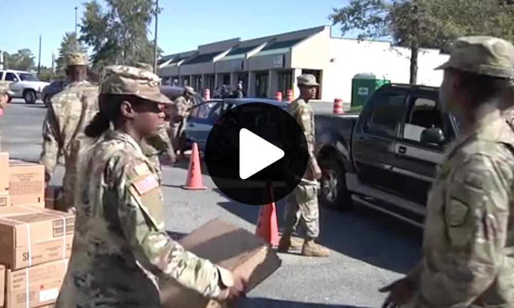 Georgia National Guard's Response to Hurricane Michael thumbnail image