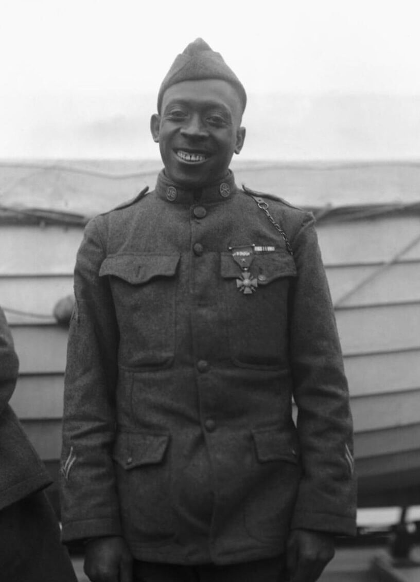 SGT Henry Johnson. Images courtesy U.S. Army
