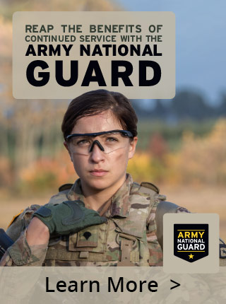 REAP the benefits of continued service with the Army National Guard