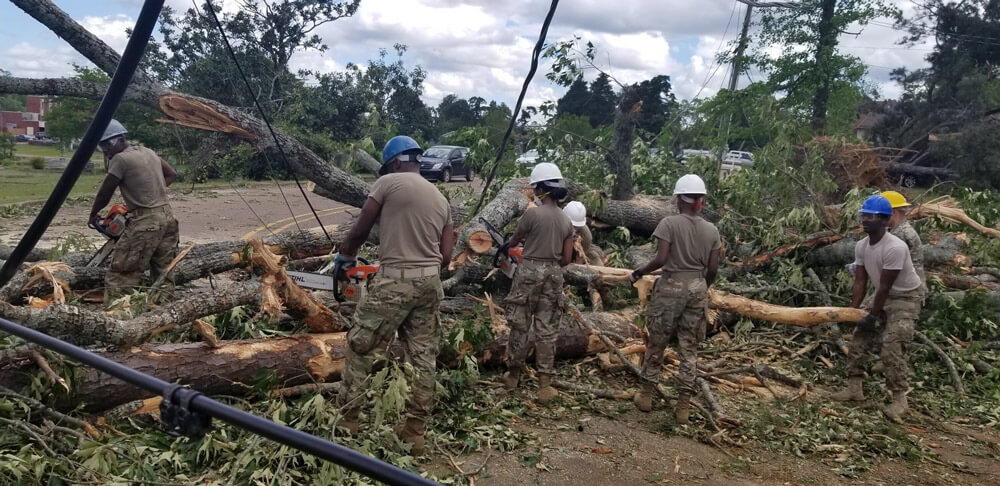 National Guard Members Respond to Tornado thumbnail image
