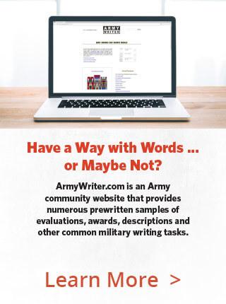Army Writer PSA