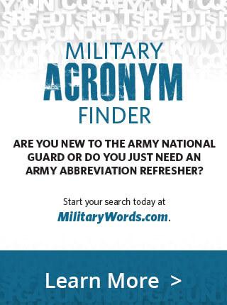 military acronym PSA
