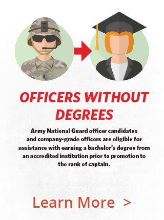 Officers without degrees PSA
